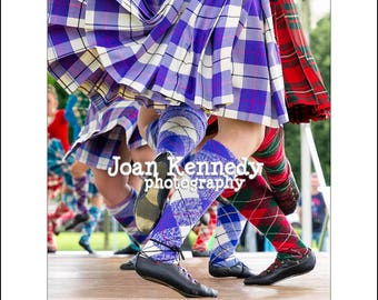 Highland Dance photography inspirational quote poster