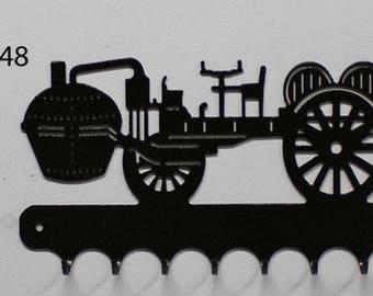 Hangs 26 cm pattern metal keys: Cugnot Dray