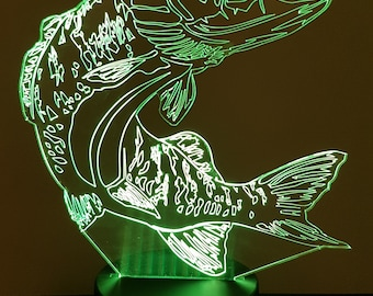 Lamp 3D design: Pike