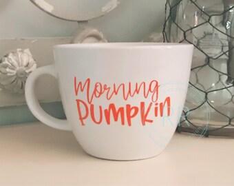 Morning Pumkin Coffee Mug