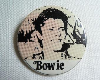 BIG Vintage 70s - David Bowie - Pin / Button / Badge