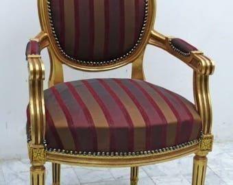 Baroque Chair Armlehner Rococo MoChB0067GoGs