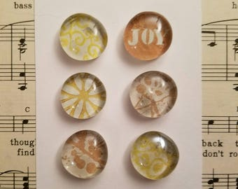 Hello Sunshine Handmade Glass Magnets