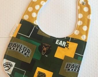 Baylor University bib-infant size Baylor Bears