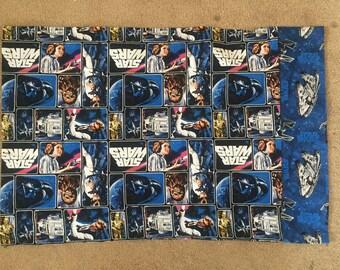 Star Wars Vintage Print Standard Pillowcase