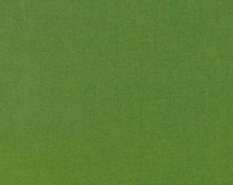 """Kona Cotton """"Grass Green""""-Robert Kaufman-BTY"""