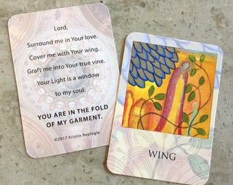 Wing Prayer Card