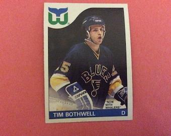 Tim Bothell - Hockey 85/86  - #161