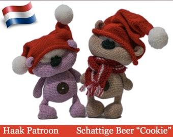 139NLY Haak Patroon - Schattige Beer Cookie  - Amigurumi soft toy PDF file by Pertseva Etsy
