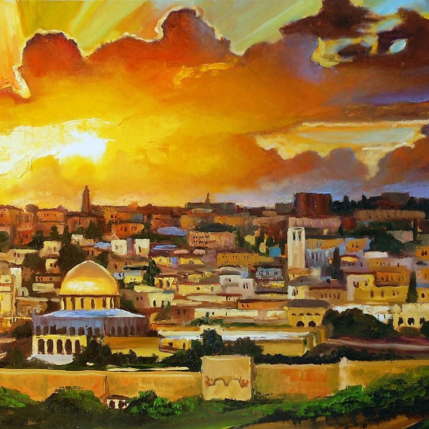 Fine Israeli Wall Art Collection - Wall Art Design - leftofcentrist.com