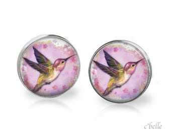 Stud Earrings Birds-60
