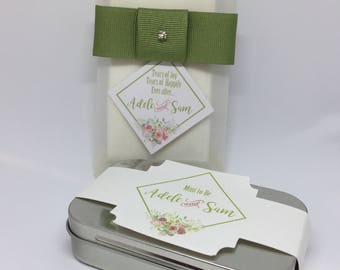 Mint to be Weeding favor - personalized wedding favor- wedding favor mints- bride
