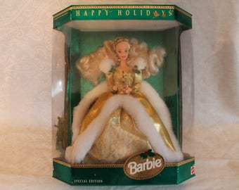 1994 Special Edition Christmas Barbie - Happy Holidays in the Original Box!
