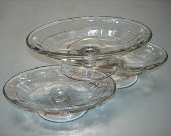 Vintage Bowman Dairy Chicago, IL Ice Cream Dishes
