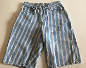 Vintage 90's Bugle Boy Striped Shorts size 30