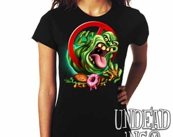 Ghostbusters Slimer  - Ladies T Shirt