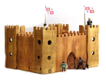 Handmade Wooden Castle
