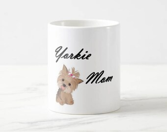 customizable dog mom mugs