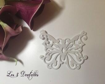 jewels of skin wedding Butterfly pattern lace