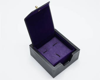 1 pcs of Cuff links and tie clip set packing box/ cuff link and tie bar box/Cufflink  box TZ335