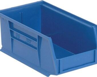 10 USED Plastic Stackable Bins, Storage Bins, Organizer Bins, Hardware Bins, Bead Storage, Tool Storage, Desk Top Storage, Hardware Storage