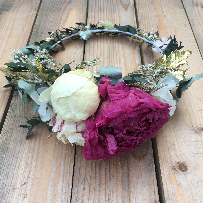 100 real flower crown bridal flower crown with peonies 100 real flower crown bridal flower crown with peonies izmirmasajfo