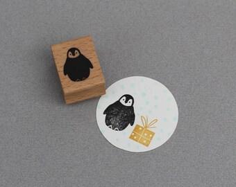 Stamp Penguin Baby