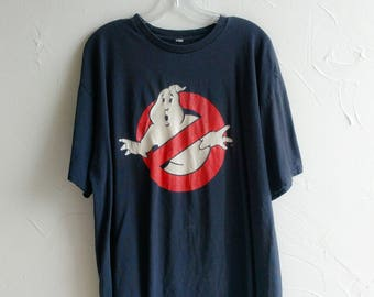 Ghostbusters T Shirt Vintage 1984 Ghostbusters T-Shirt Made in U.S.A. Vintage 80s Ghostbusters Movie Shirt Promo