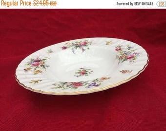 SALE Minton Marlow, Soup Plate, Vintage Plate,  Bone China,  Rimmed Dish