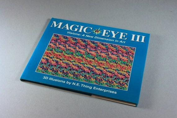 Magic Eye III, 3D Illusion Book, N. E. Enterprises, Hidden Picture, Art Book