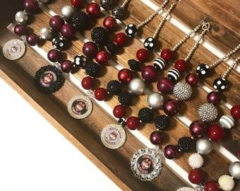 School spirit necklace