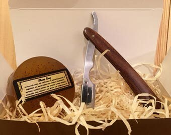 Handcrafted Razor and Shave Soap