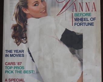 Vintage 1987 Vanna White Playboy