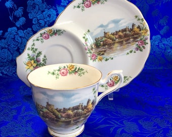 Royal Albert Land of Hope and Glory Snack Plate and Teacup China