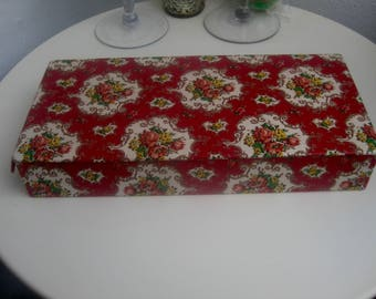Old Fabric Box