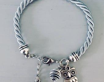 Bracelet with OWL pendant