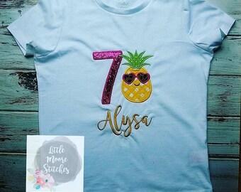 Pineapple Birthday Shirt