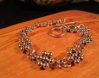 Sterling Silver Artie Yellowhorse Bracelet