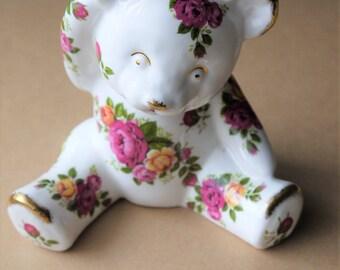 Superb Vintage Bone China Bear
