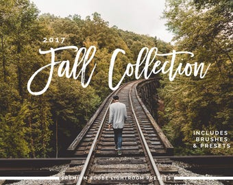 2017 Fall Adobe Lightroom Preset Collection - Presets and Brushes