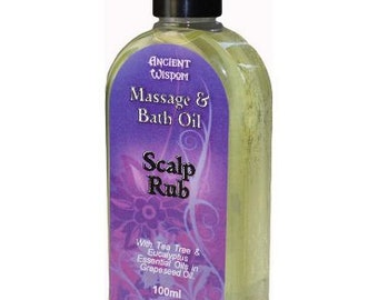 Scalp Rub 100ml Massage Oil