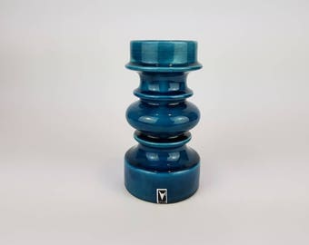 Blue Gallo candleholder