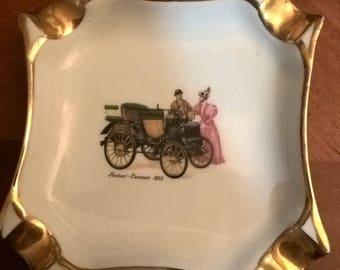 Vintage ashtray made in France Limoges porcelain