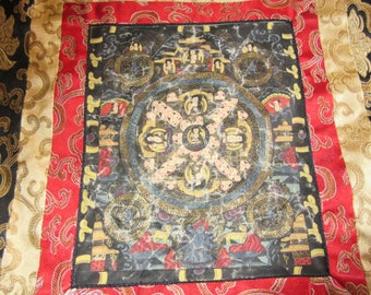 JAPAN THOUSAND FACES Silk wall Hanging