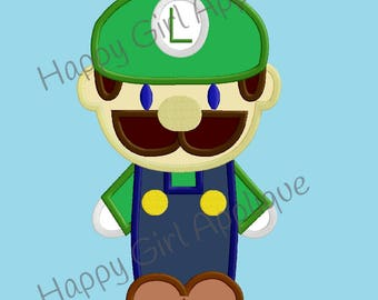 Mario Brothers - Luigi Applique