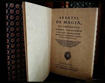 Arbatel de Magia - edition 1750. Replica
