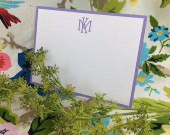 Monogram Notecards / Thank you cards / Stationery