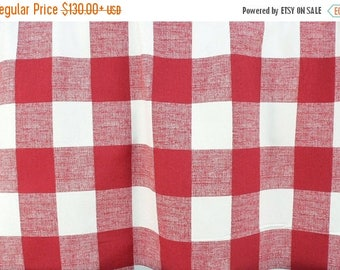 summer sale shower curtain check shower curtain buffalo check primary red white buffalo 72 x 84