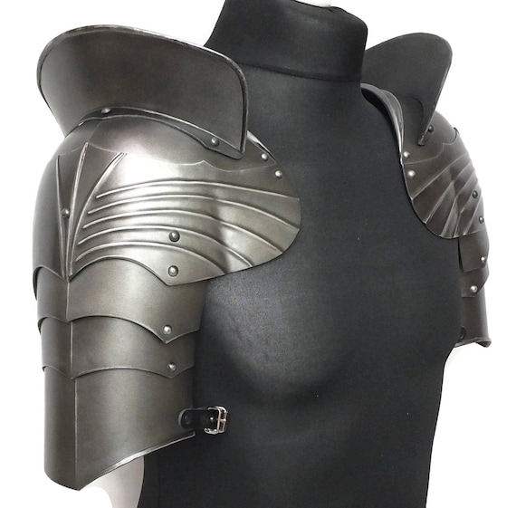 Larp Armor, Gothic Pauldrons, shoulder armor, cosplay armor, cosplay shoulders, shoulder armor