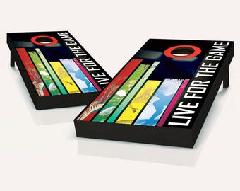 Sports Fanatic Cornhole Board set!! 8 Bags You Pick Colors!!